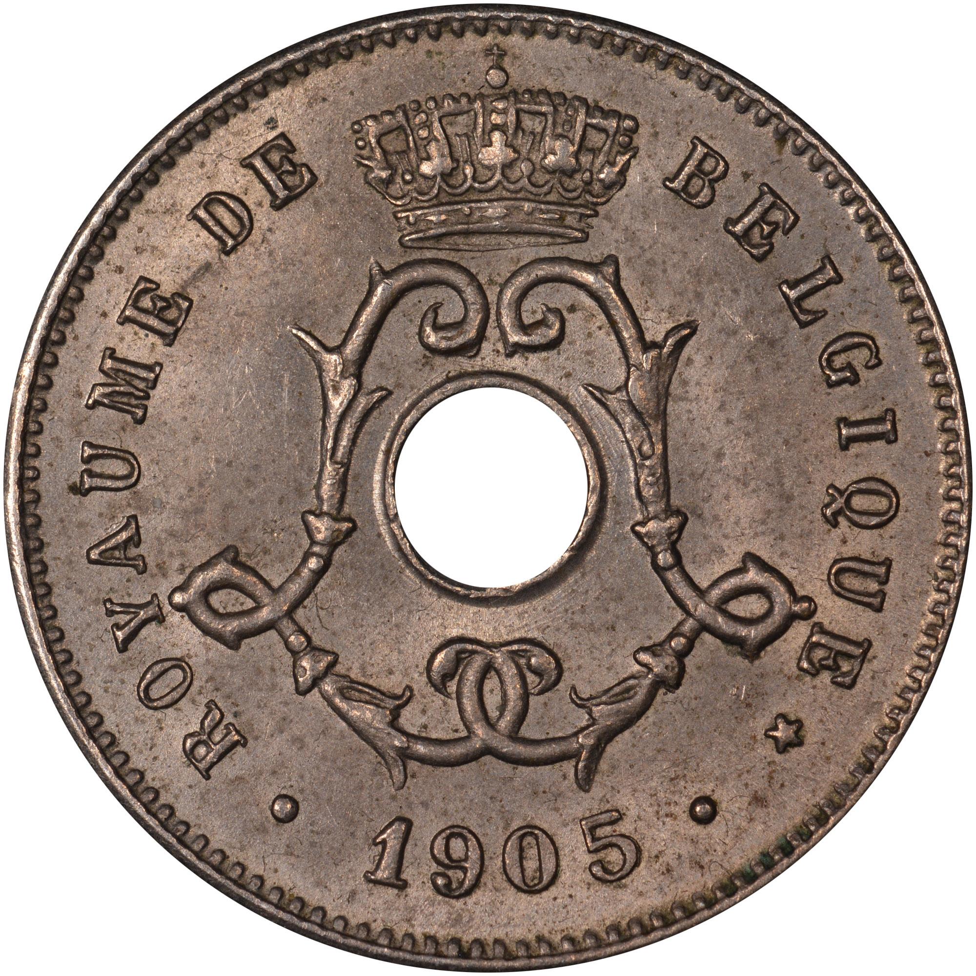 Belgium 5 Centimes obverse
