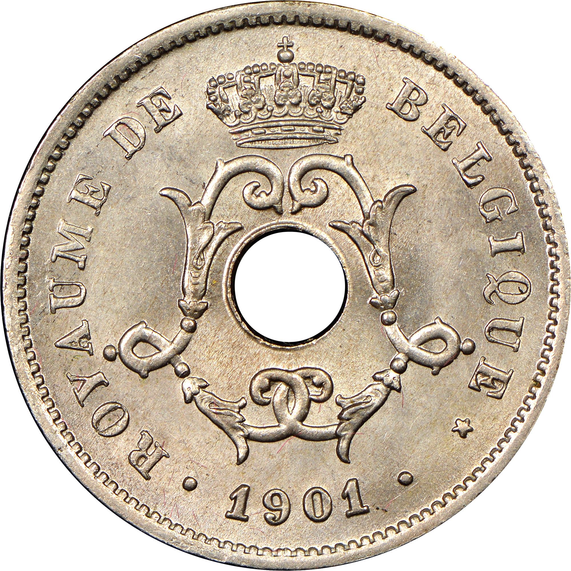 Belgium 10 Centimes obverse