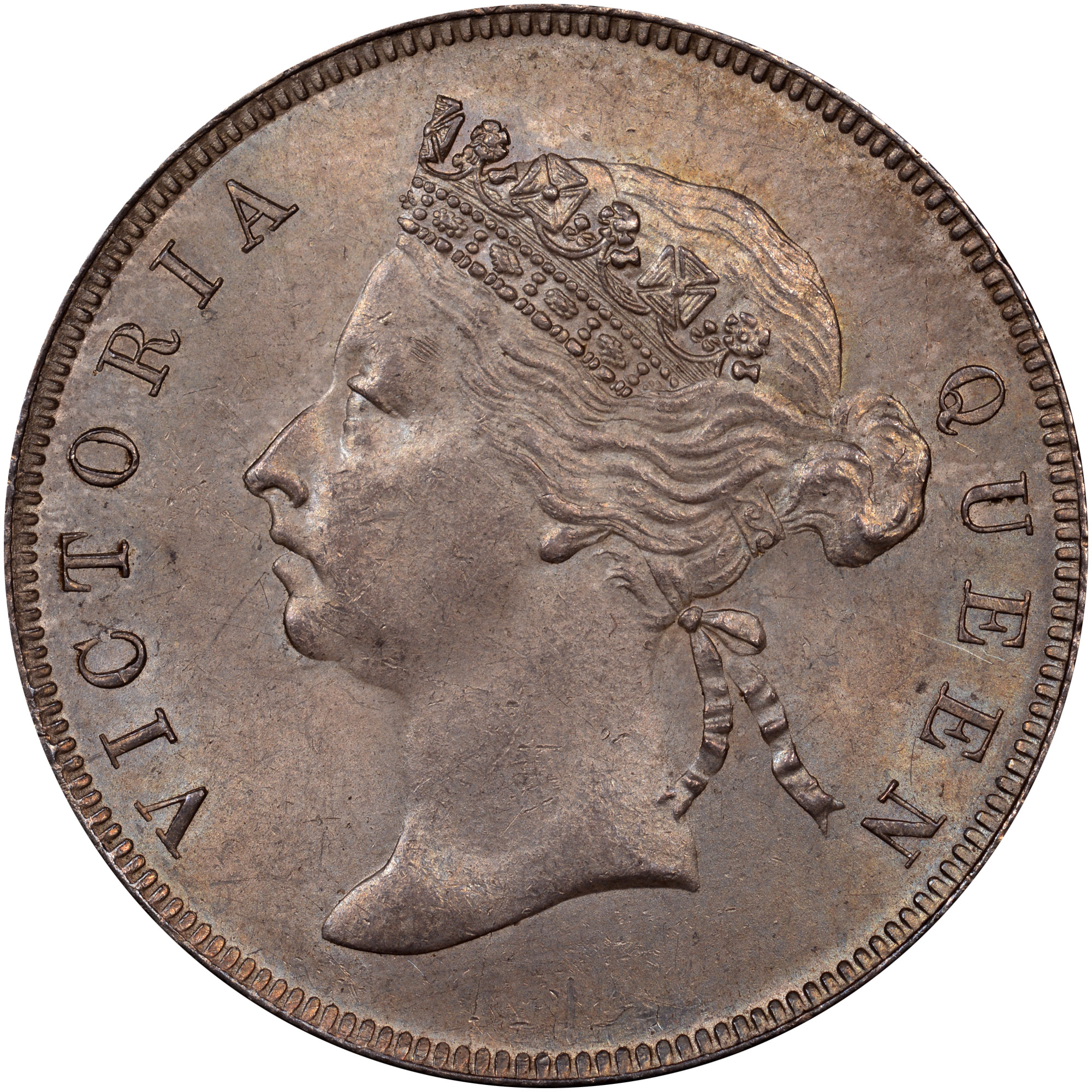 1894-1901 British Honduras 50 Cents obverse