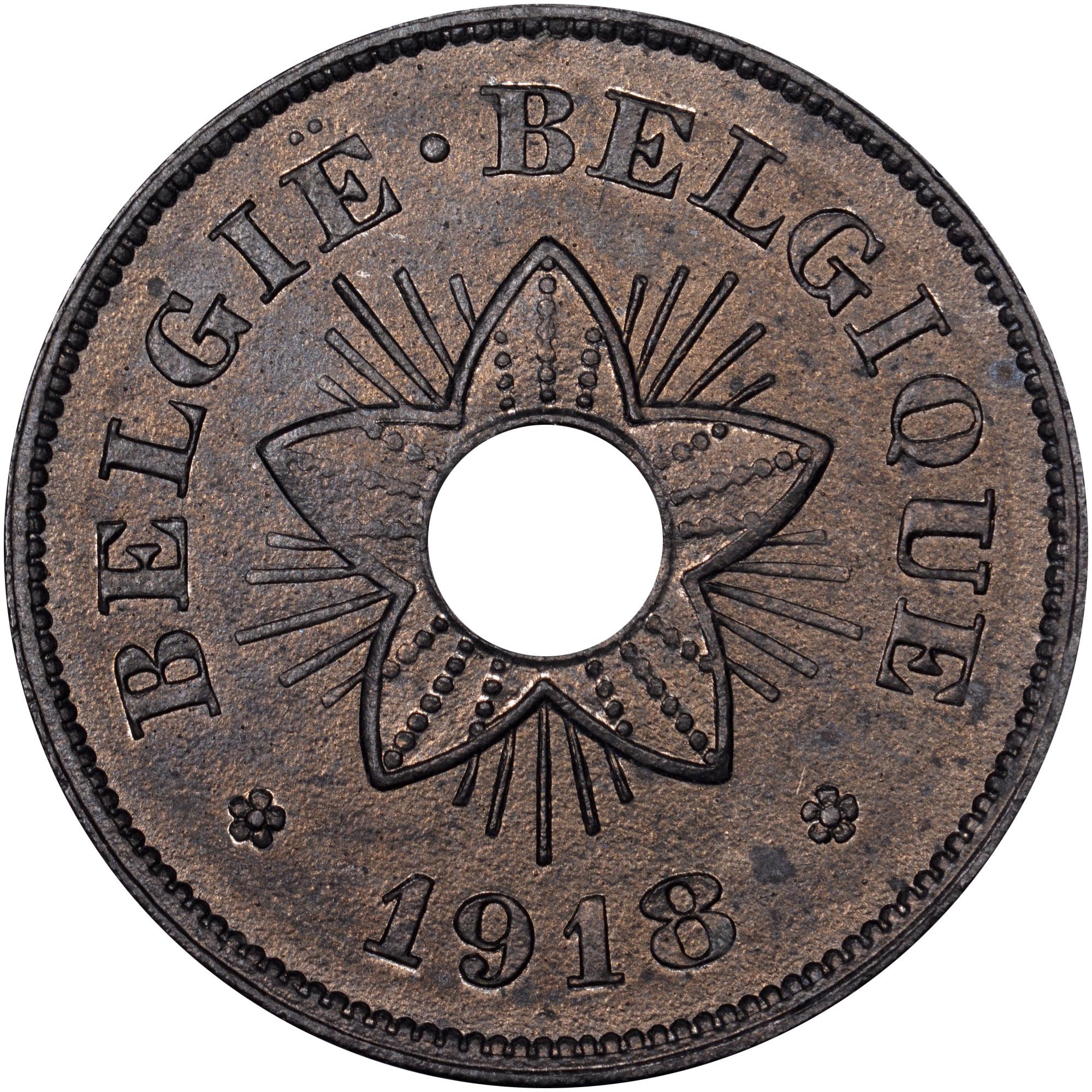 Belgium 50 Centimes obverse