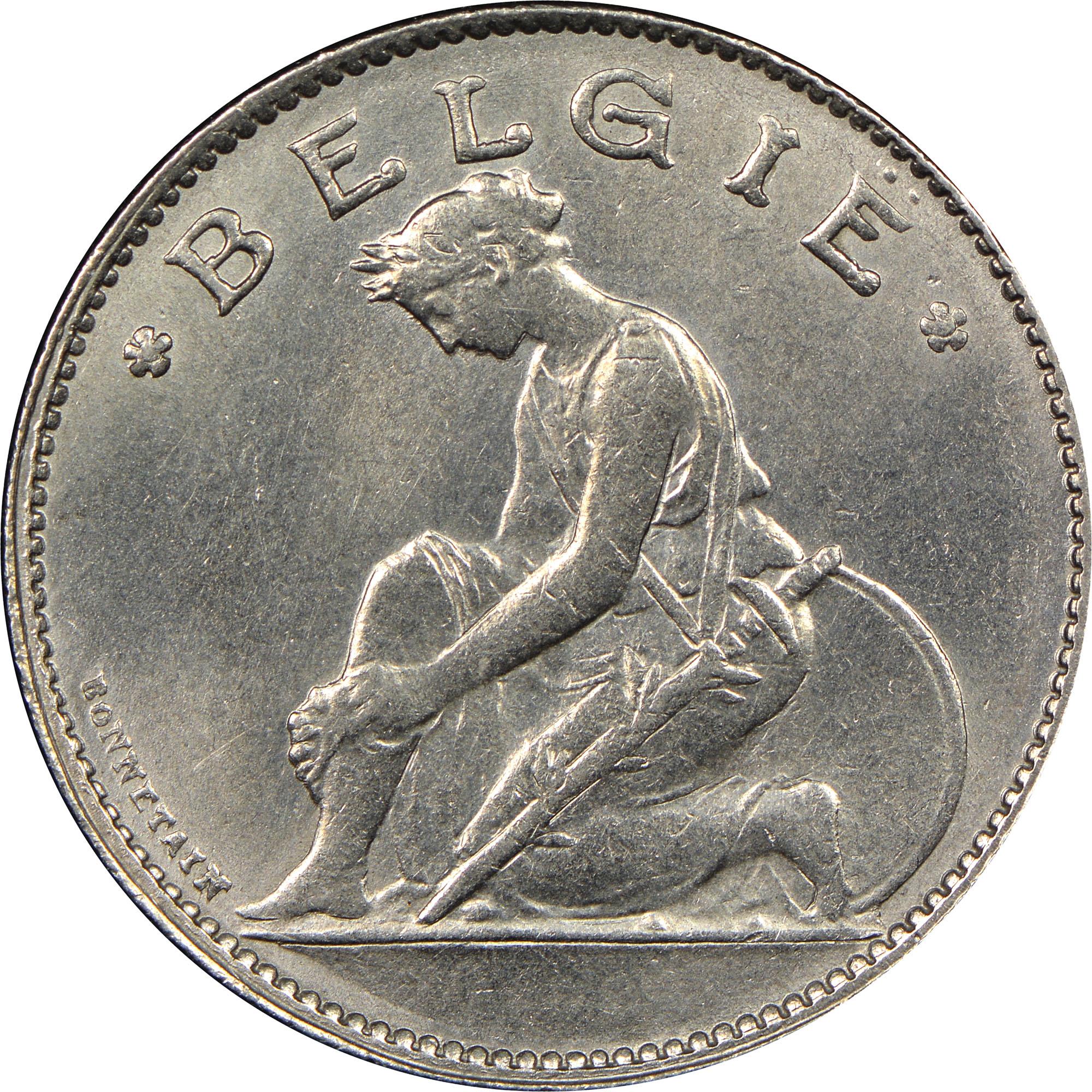 Belgium Franc obverse