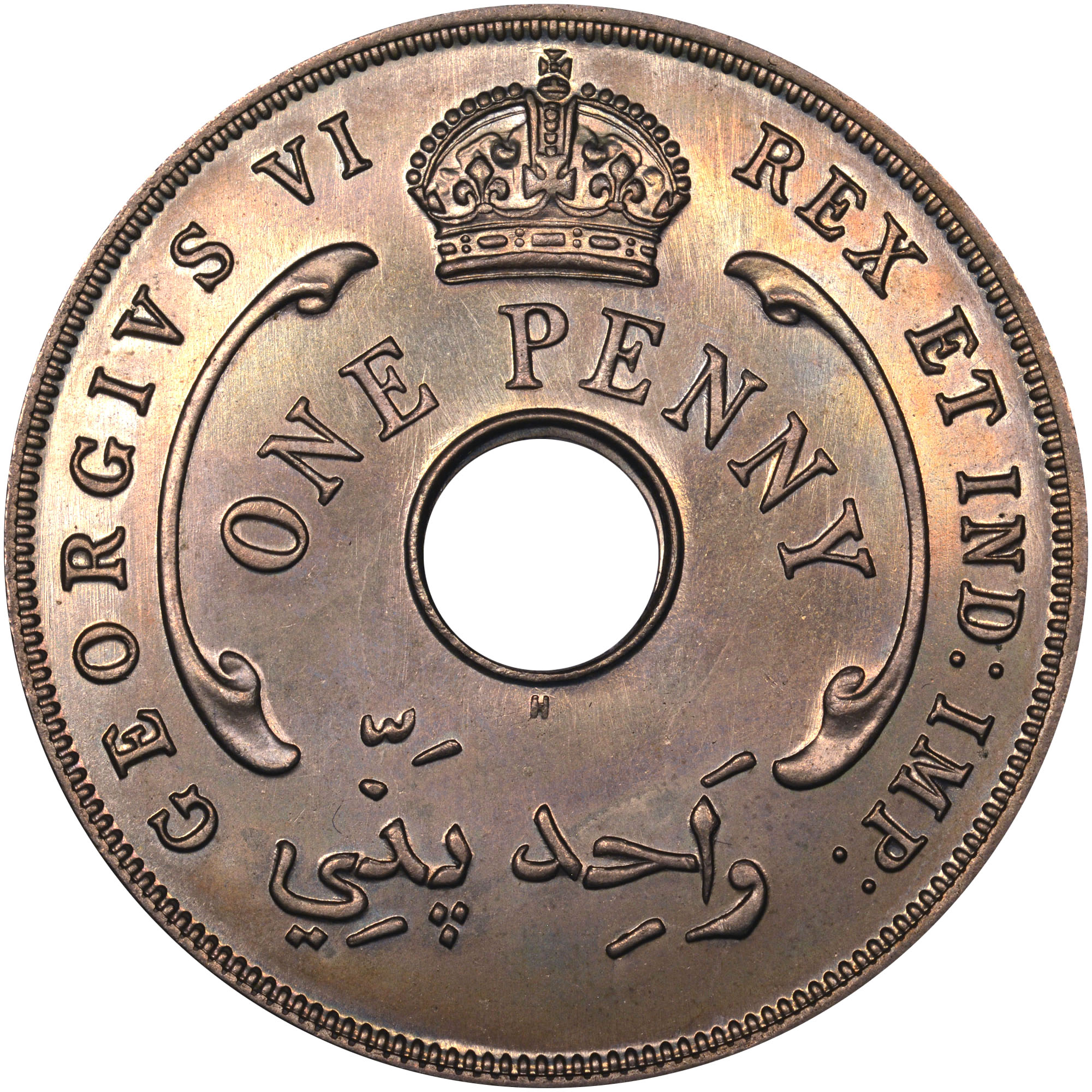 British West Africa Penny KM 19 Prices & Values | NGC