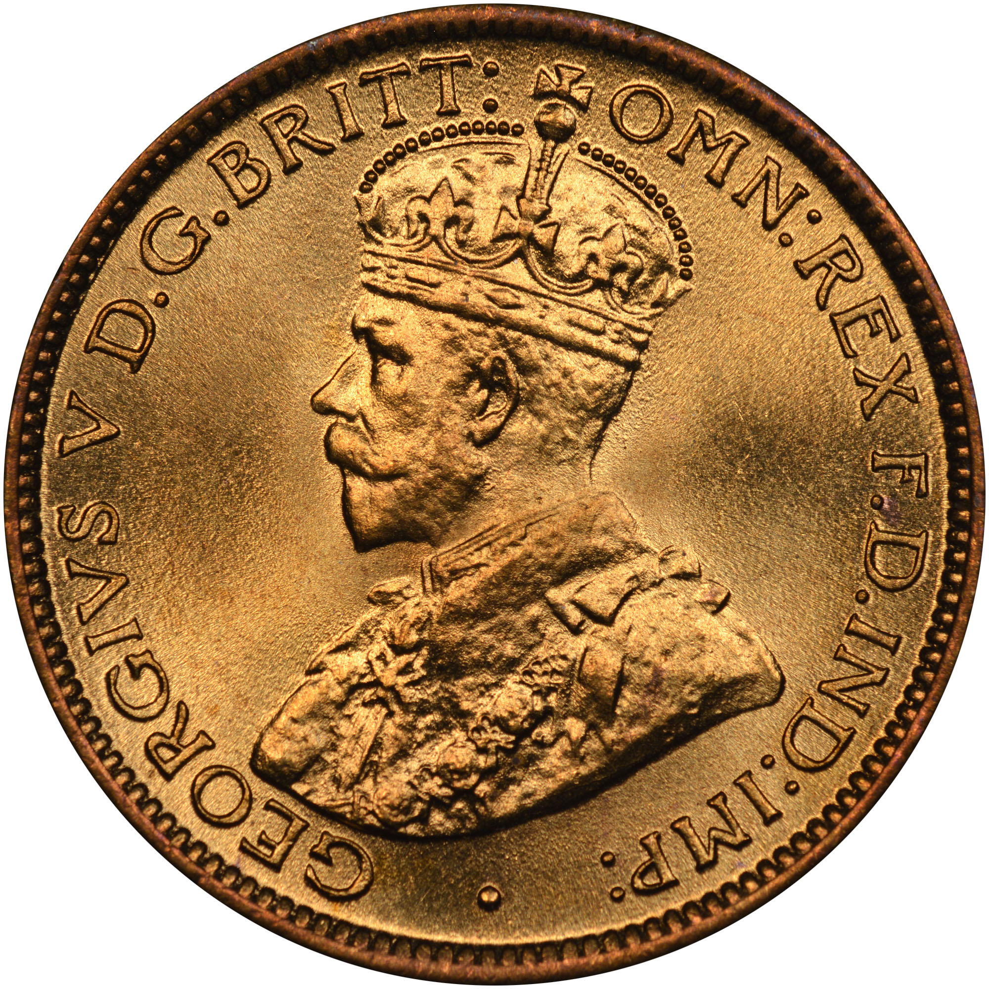British West Africa 6 Pence obverse
