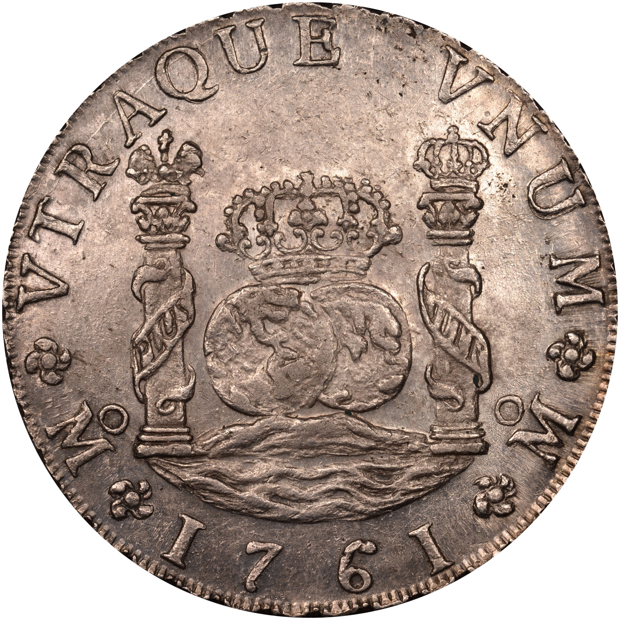 Mexico SPANISH COLONY 8 Reales Reverse