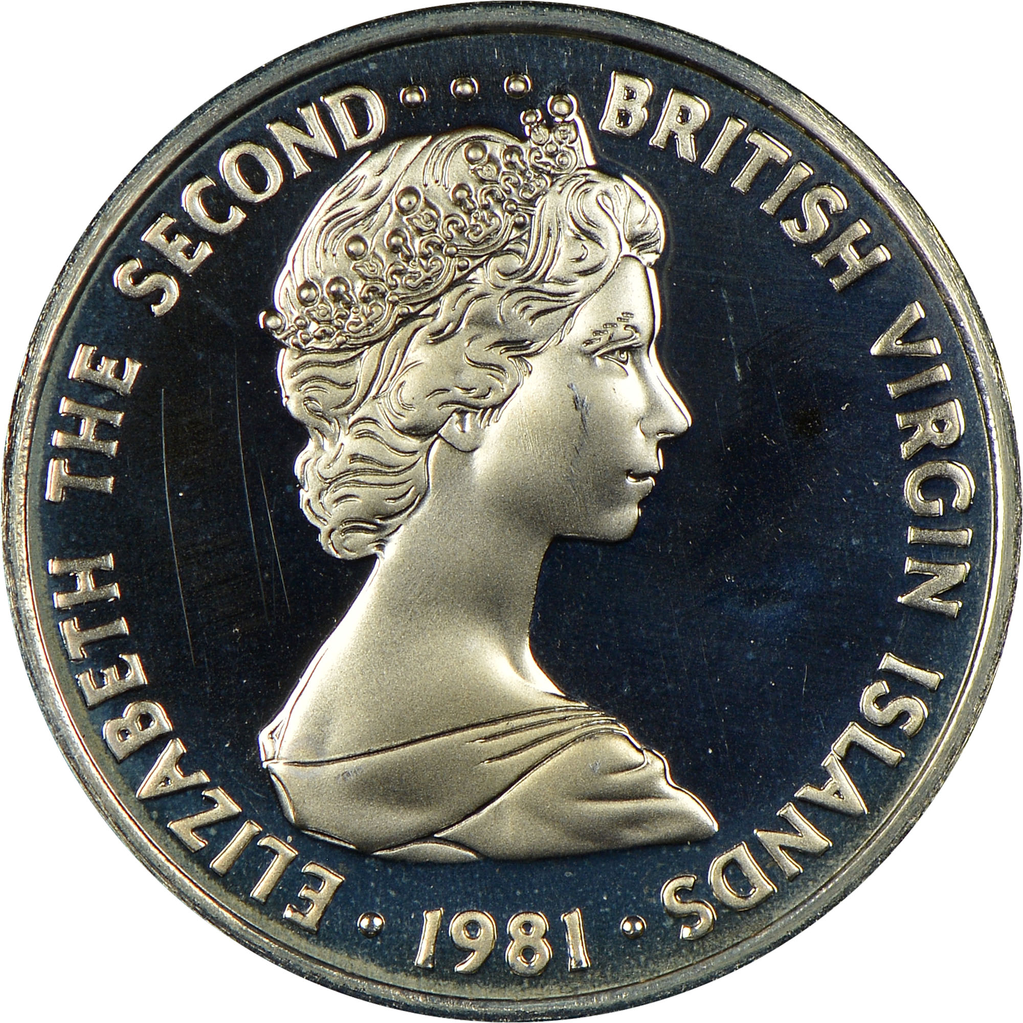 1973-1984 British Virgin Islands 5 Cents obverse