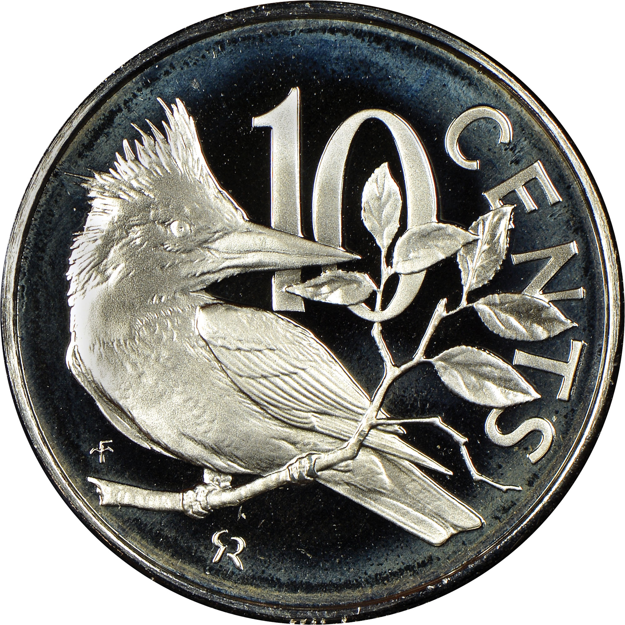 1973-1984 British Virgin Islands 10 Cents reverse
