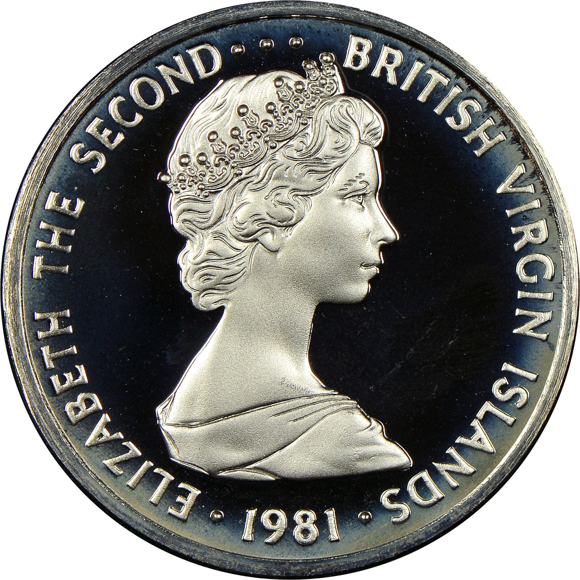 1973-1984 British Virgin Islands 10 Cents obverse