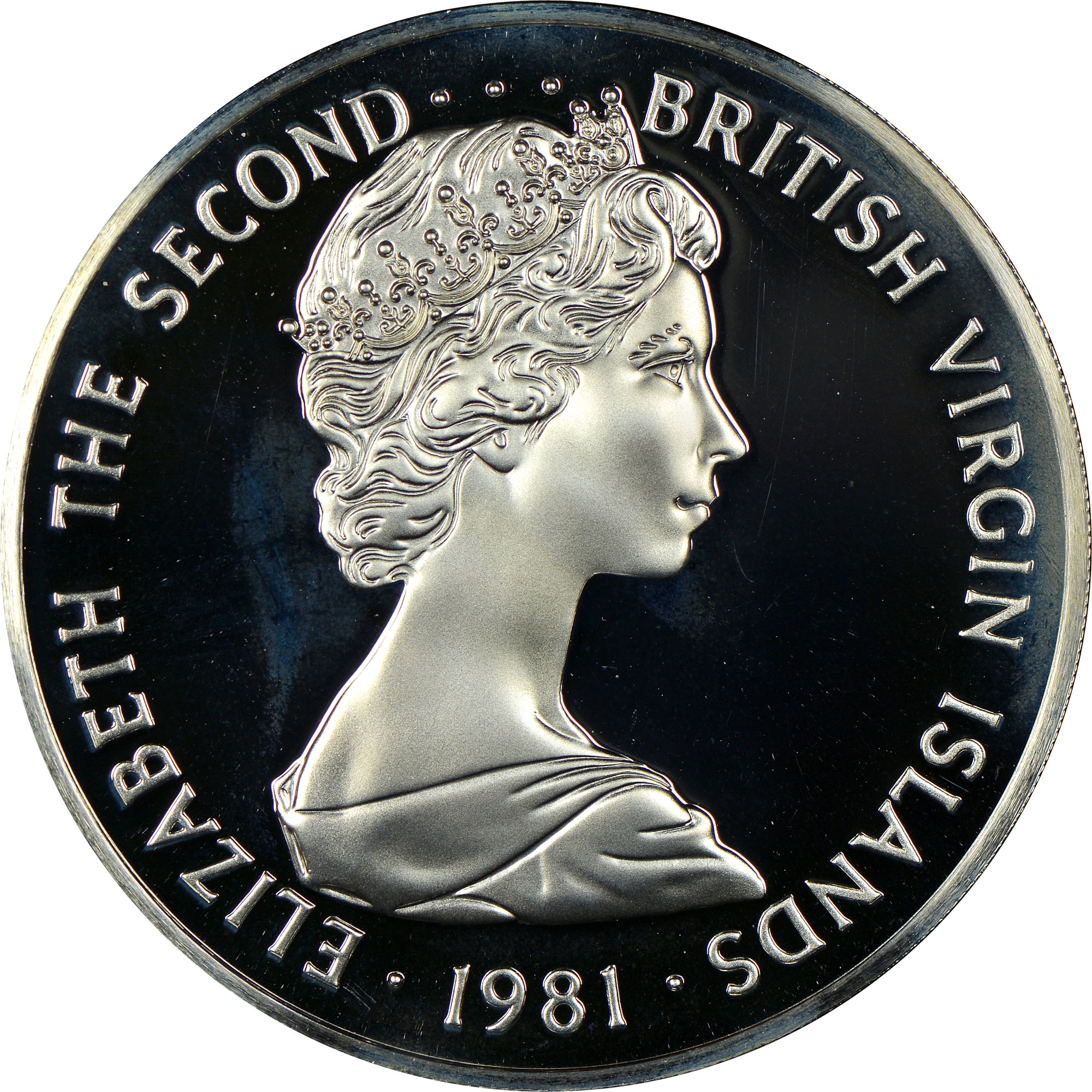 1973-1984 British Virgin Islands Dollar obverse