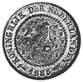 Netherlands 1/2 Cent obverse