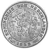 Netherlands 1/2 Cent obverse