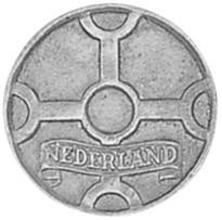 Netherlands Cent obverse