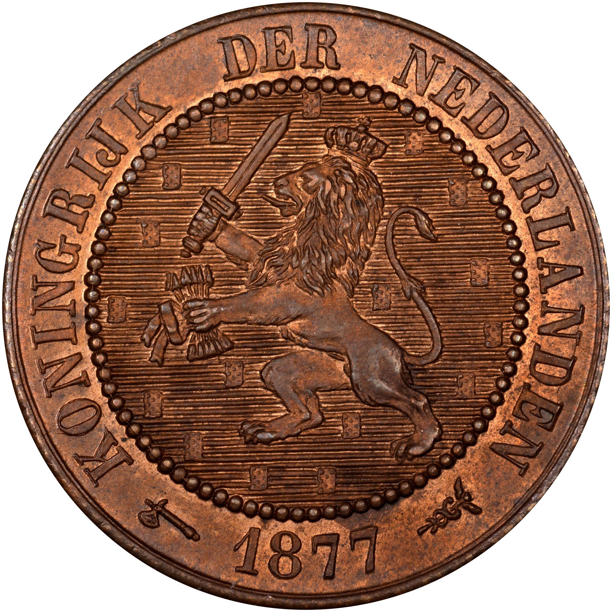 Netherlands 2-1/2 Cent obverse