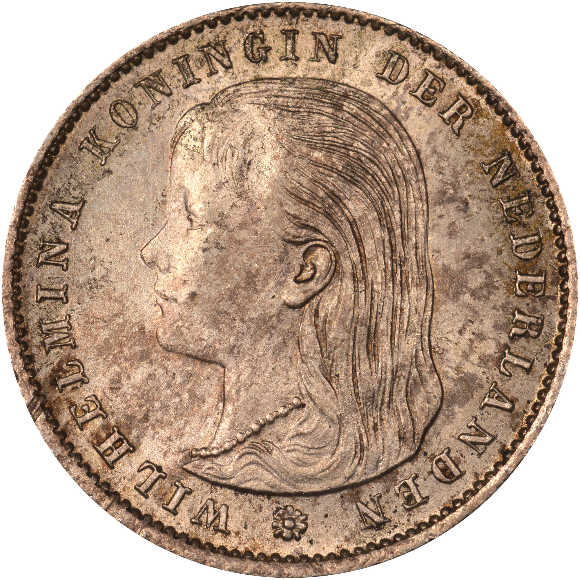 Netherlands 25 Cents obverse