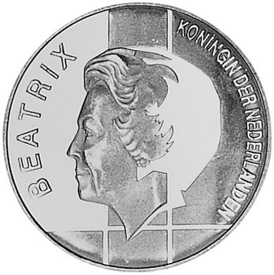 Netherlands 10 Gulden obverse