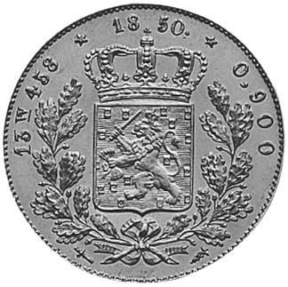 Netherlands 20 Gulden reverse