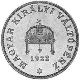 Hungary 20 Fillér obverse