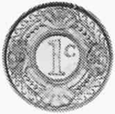 Netherlands Antilles Cent reverse