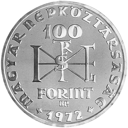 Hungary 100 Forint Km 597 Prices Values Ngc
