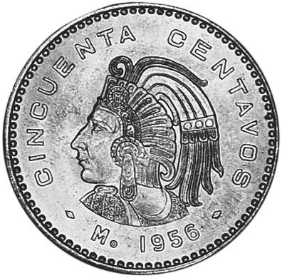 Mexico Estados Unidos Mexicanos 50 Centavos Km 450 Prices Amp Values N