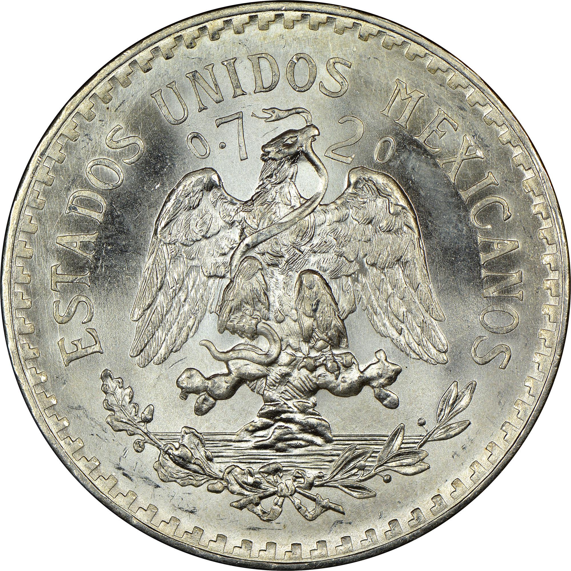 1920 1945 Mexico Estados Unidos Mexicanos Peso Km 455