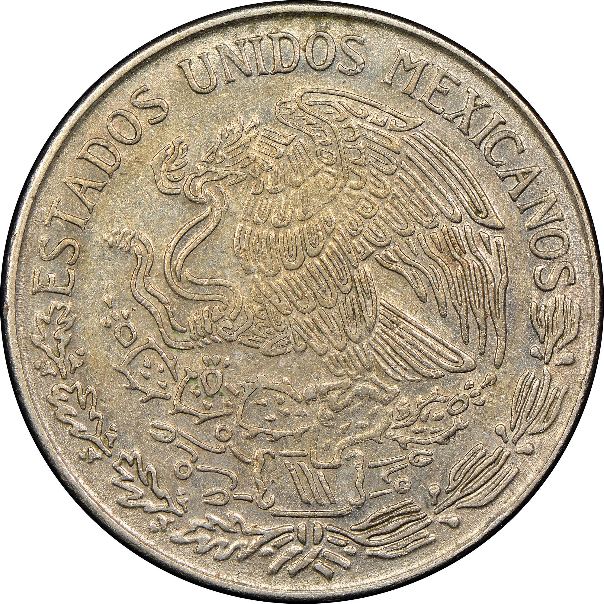 Mexico ESTADOS UNIDOS MEXICANOS Peso KM 460 Prices ...