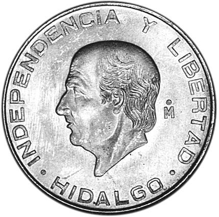 Mexico ESTADOS UNIDOS MEXICANOS 5 Pesos reverse