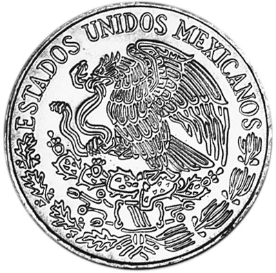Mexico ESTADOS UNIDOS MEXICANOS 5 Pesos KM 472 Prices