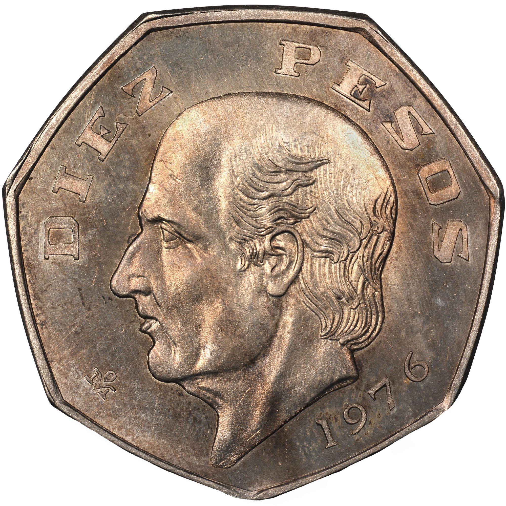 Mexico Estados Unidos Mexicanos 10 Pesos Km 477 1 Prices