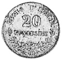 Italy 20 Centesimi reverse