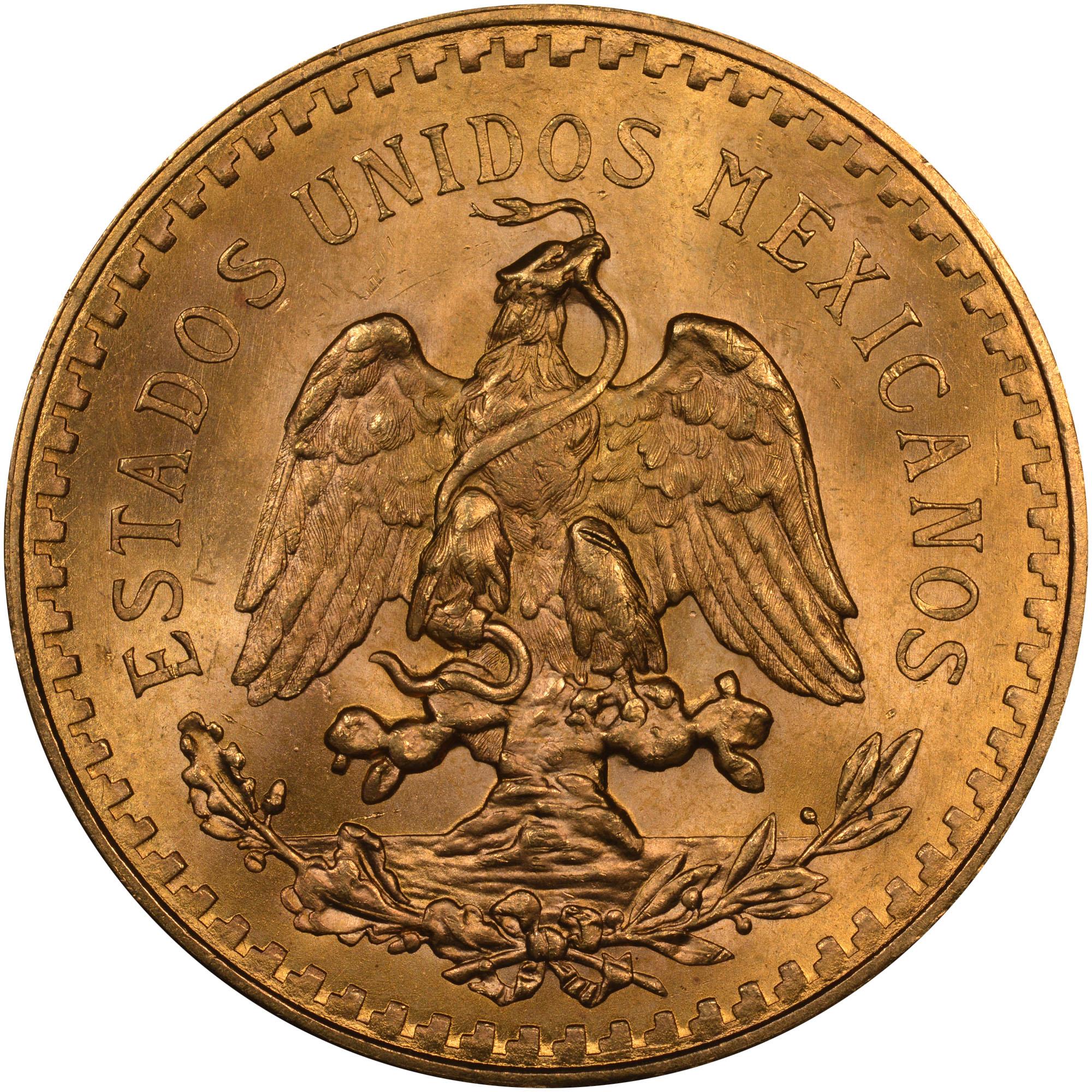 Mexico ESTADOS UNIDOS MEXICANOS 50 Pesos KM 481 Prices ...