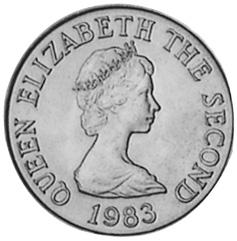 Jersey Penny obverse