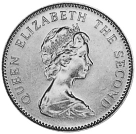 Jersey 5 New Pence obverse