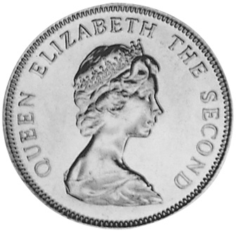 Jersey 10 New Pence obverse