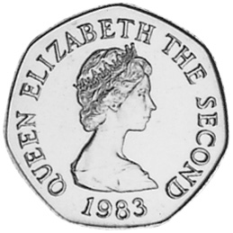 Jersey 20 Pence obverse