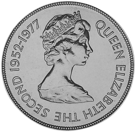 Jersey 25 Pence obverse