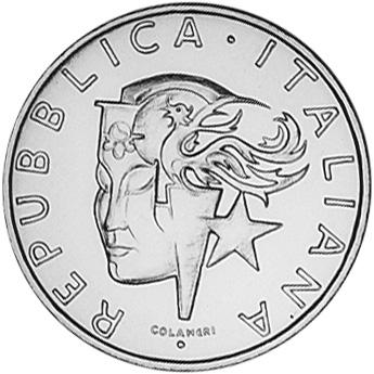 Italy 500 Lire obverse