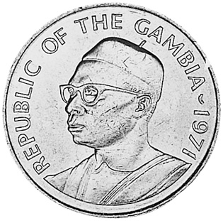 Gambia, The 10 Bututs obverse