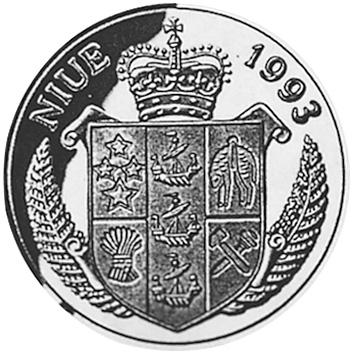 Niue 5 Dollars obverse