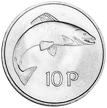 Ireland Republic 10 Pence reverse