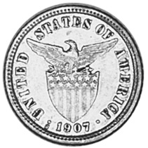 U.s. (1898-1946) Coins: World Objective 1913-s Philippines Ten Cenvavos