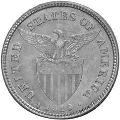 Philippines 20 Centavos reverse