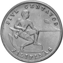 Philippines 5 Centavos obverse