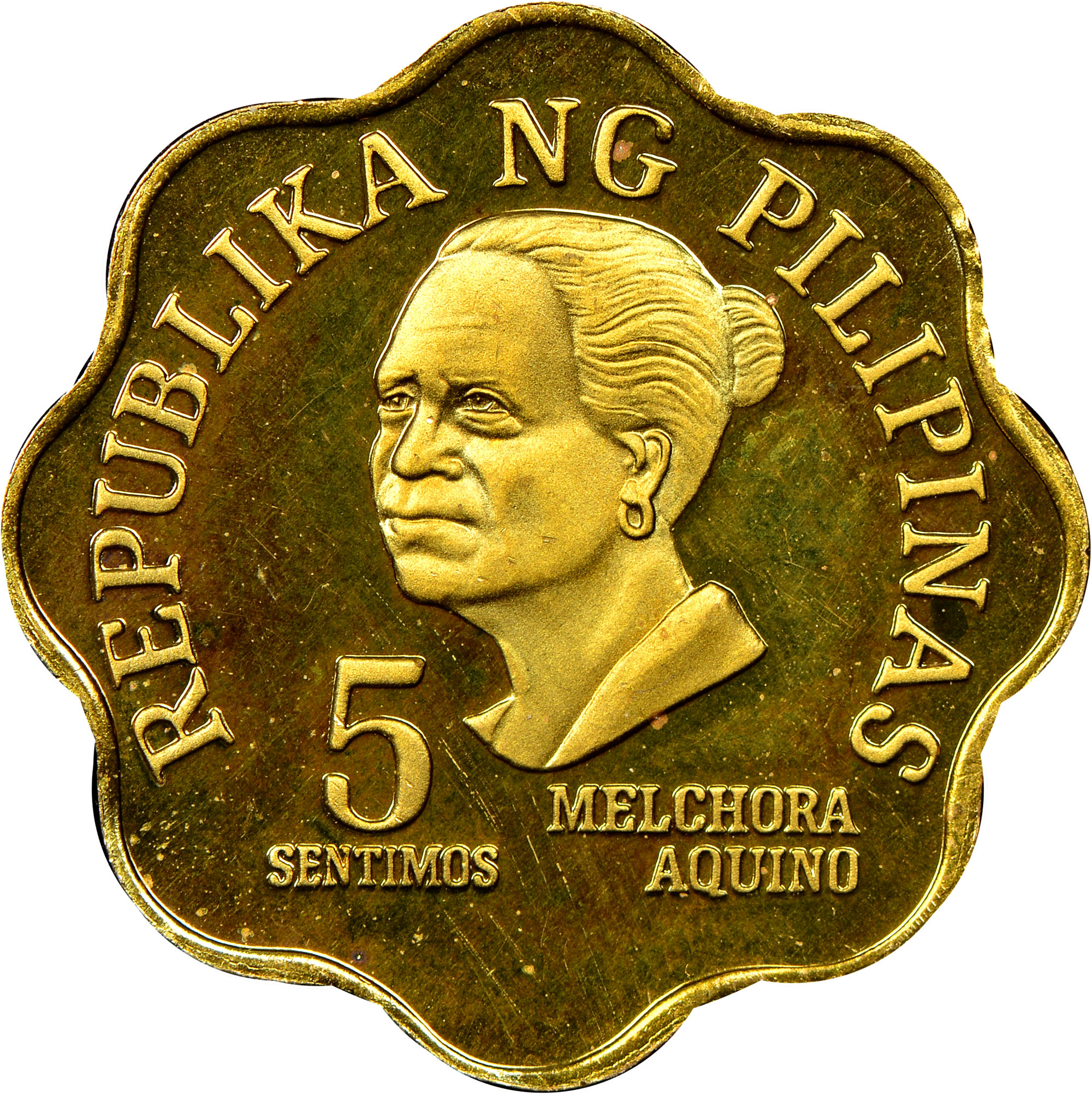 Coin Ph: Philippines 5 Sentimos KM 225 Prices & Values