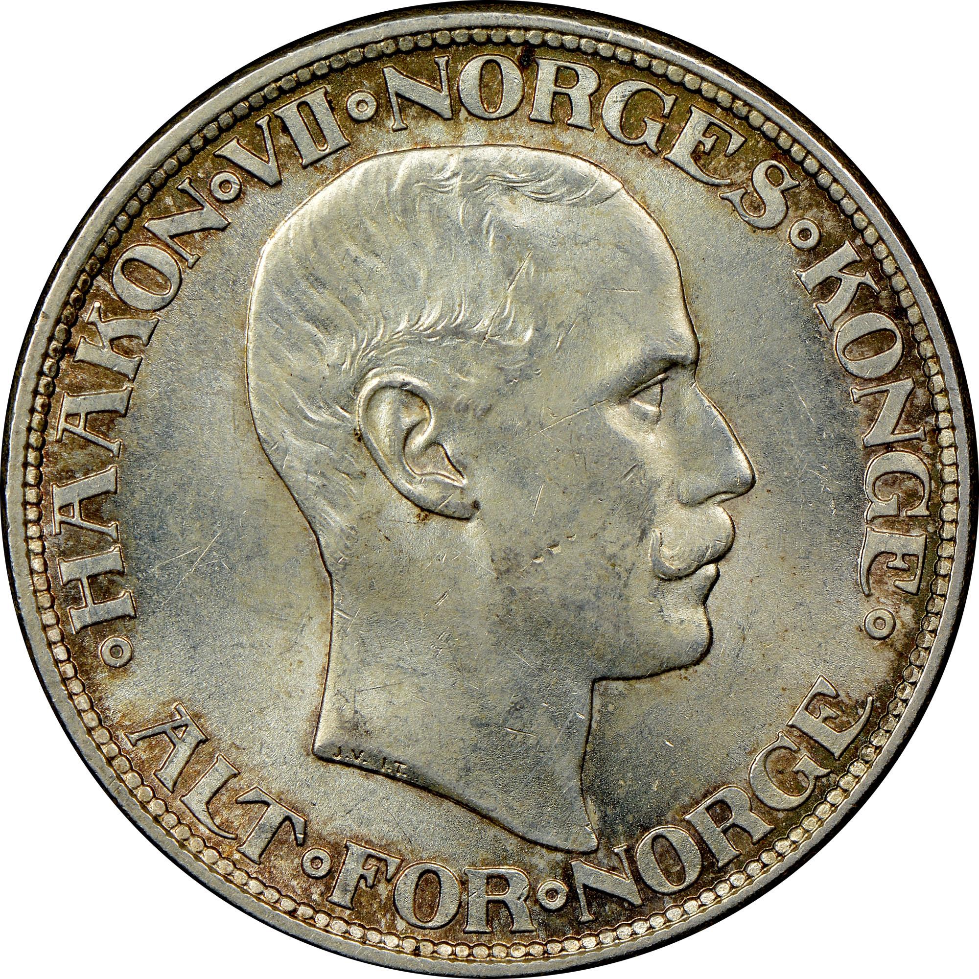 Norway 2 Kroner obverse