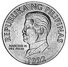 Philippines 50 Sentimos obverse