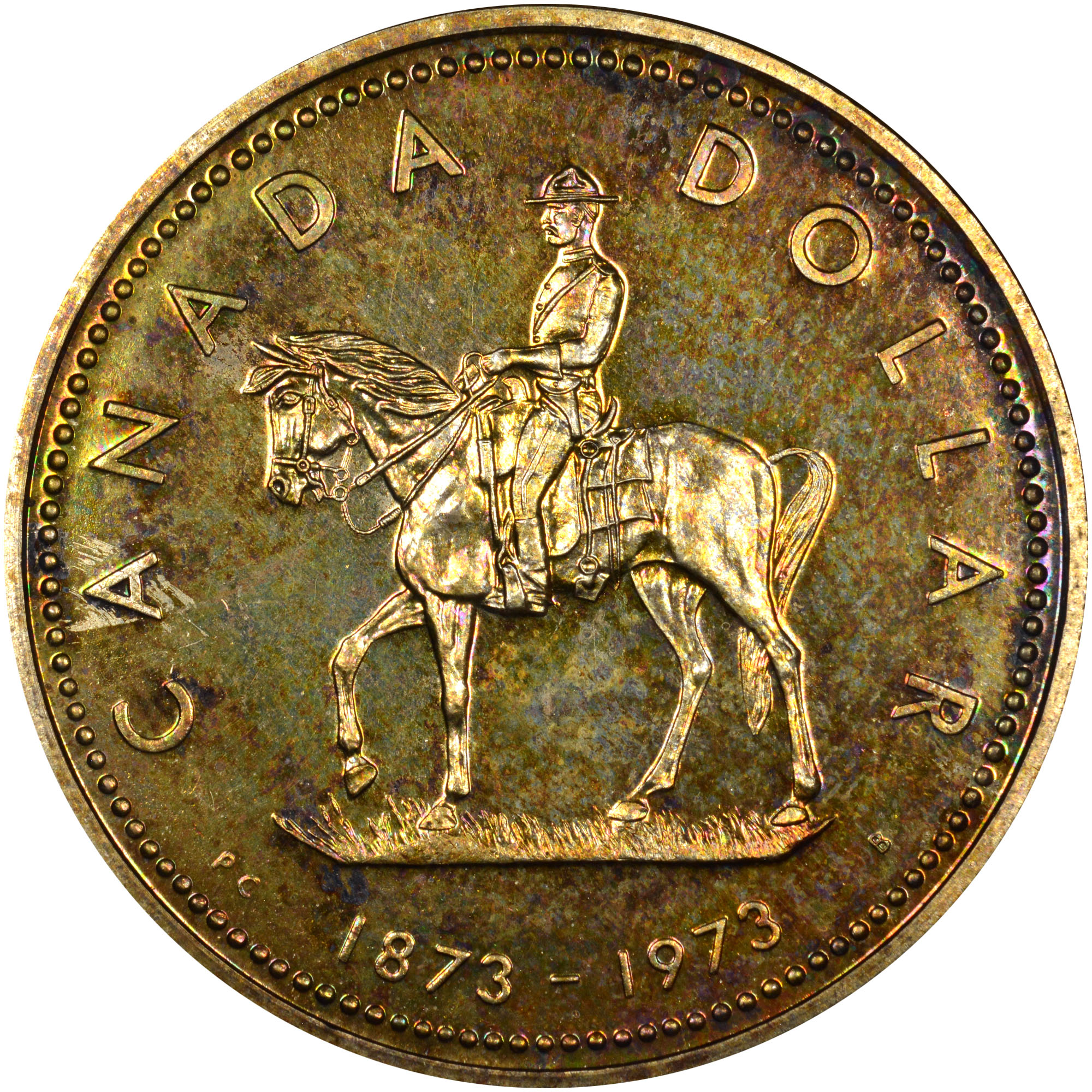 Coin Chart: Canada Dollar KM 83 Prices & Values