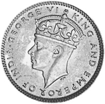 Malaya 10 Cents obverse