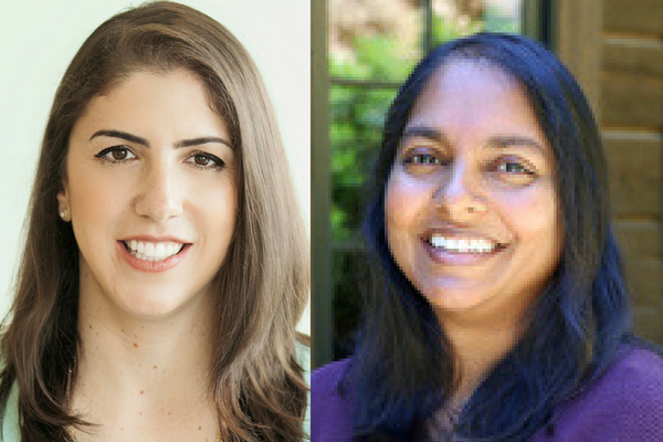 Dalia Hochman and Saro Mohammed headshots