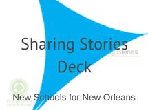 NSNO Sharing Stories Deck