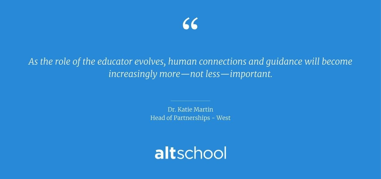 educator role quote